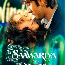 Saawariya movie poster