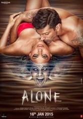 Movie poster for Alone
